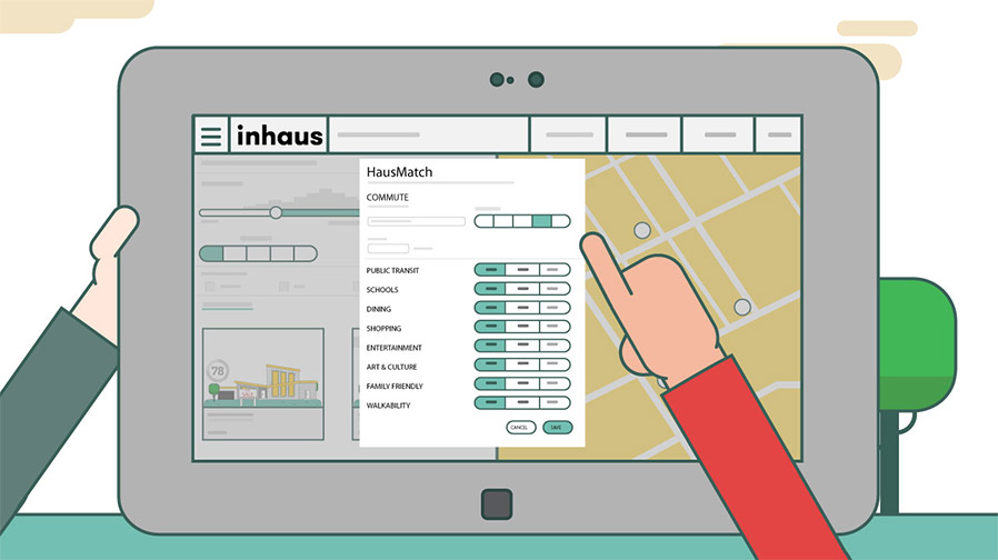 Watch video of inHaus