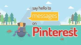 Say Hello to Messages on Pinterest