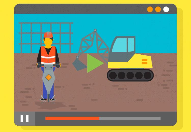 Construction safety instruction