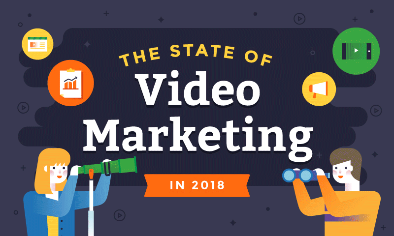 Thumbnail for 30+ Stats on The State of Video Marketing 2018 [INFOGRAPHIC]