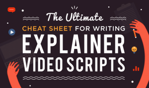 The Ultimate Cheatsheet to Explainer Video Scripts [INFOGRAPHIC]