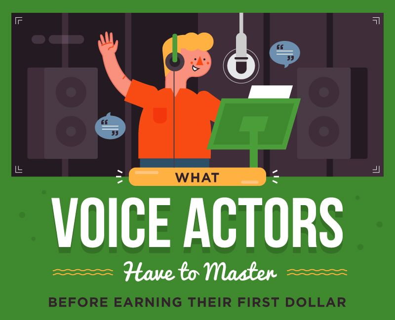 The Skills You Have to Learn Before Landing Your First Voice Acting Job