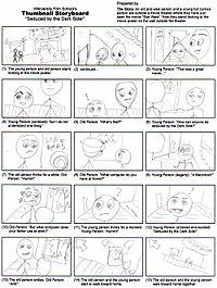 A Thumbnail Storyboard